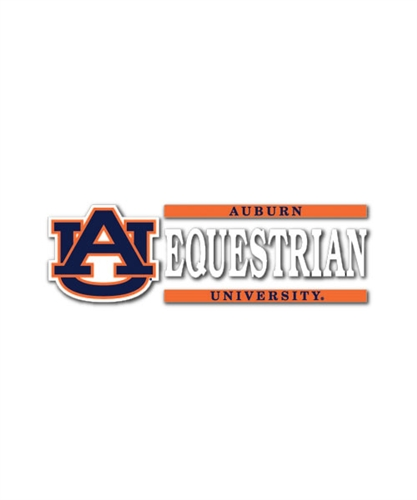Auburn Equestrian Automotive Decal Equestrian Fan Gear